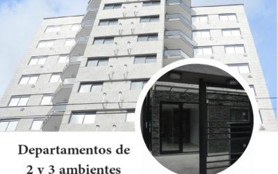 DPTOS DE 2 Y 3 AMB A ESTRENAR EN PESOS!!!