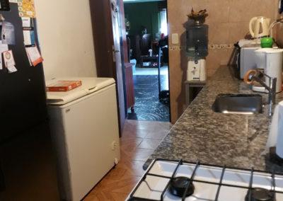 Cocina vista desde esquina